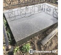 Площадка с керамогранитной плиткой